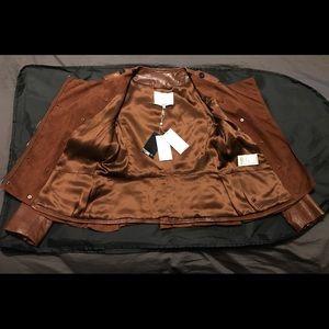 3.1 Phillip Lim Jackets & Coats - 3.1 Phillip Lim Ruffle Detail Leather Jacket